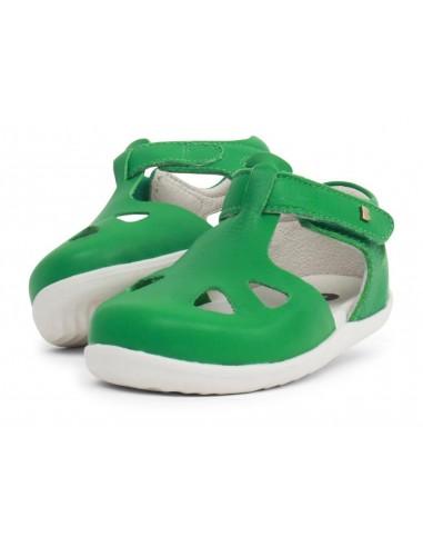 725817 Zap Emerald Sandalia verde Step Up Bobux