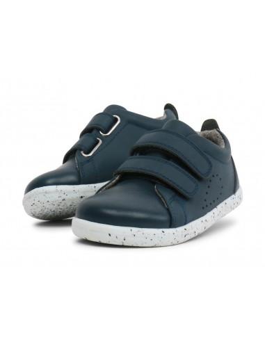 633704 Grass Court Navy Zapato deportivo I Walk de Bobux