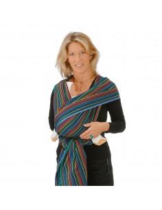 Fular tejido algodón HOPPEDIZ Timbuktu