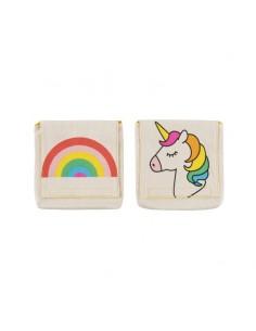 Bolsa merienda Rainbow (pack 2)