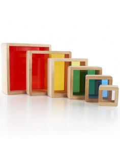 Stacking Rainbow Pyramid Guidecraft
