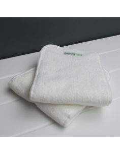 doble absorbente pañal tela