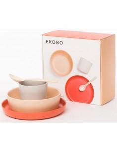 Bambino Kid Set EKOBO -Blush, Cloud, Terracotta
