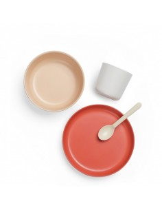 Bambino Kid Set EKOBO -Blush, Cloud, Terracotta