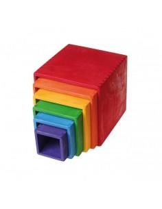 Cajas de colores grandes...