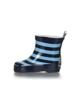 Botas Caña baja Playshoes Rayas azules