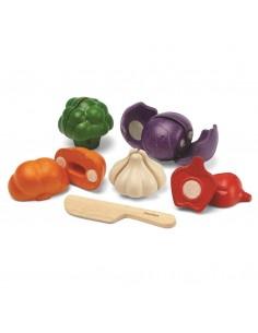 Set de 5 vegetales PlanToys