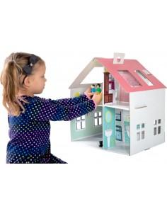 CAsa de muñecas de carton