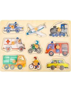 Puzzle vehiculos de ciudad...