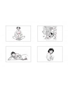 Ilustraciones Angélica Chamorro (Serie Maternar)