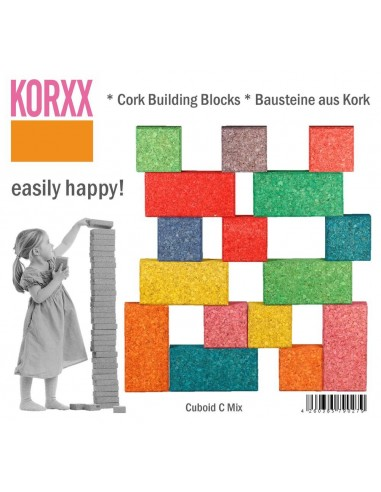 Cuboid Mix Color (19 pz) KORXX