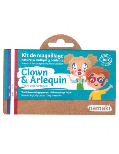 Kit maquillaje Namaki CLOWN/ARLEQUÍN