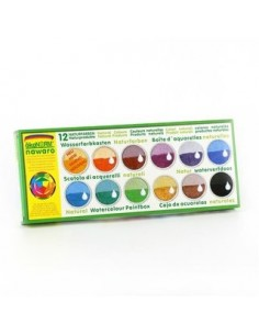 Acuarelas (12 colores) Okonorm