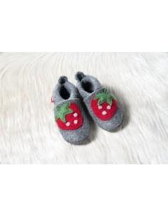 Zapato de lana POLOLO Fresa