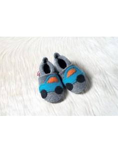 Zapato de lana POLOLO Coche