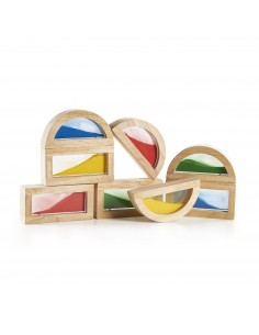 Rainbow blocks-Arena Guide Craft