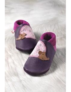 Zapato de gateo POLOLO Erizo Borgoña