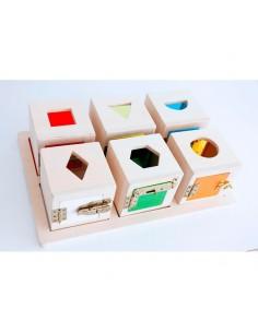 Peekaboo Cajas Permanencia GuideCraft
