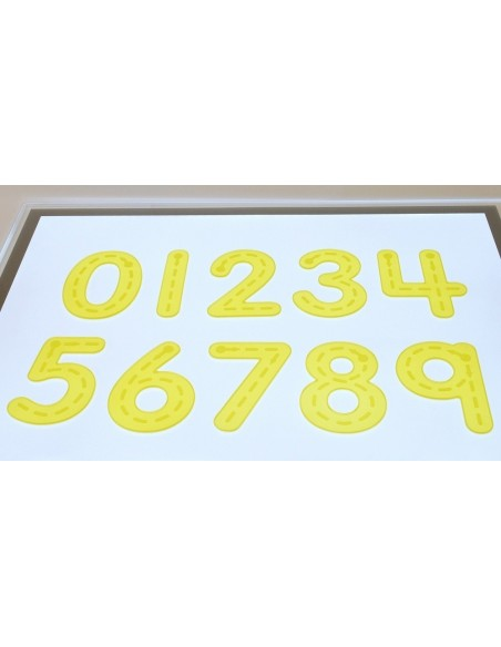 54509 SILISHAPES TRACE NUMBER-YELLOW