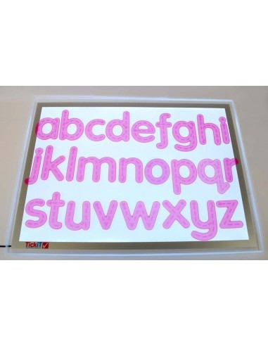 Silishapes Letras flexibles TICKIT Pk26
