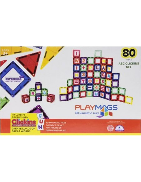 PLAYMAGS 80 Piece Set
