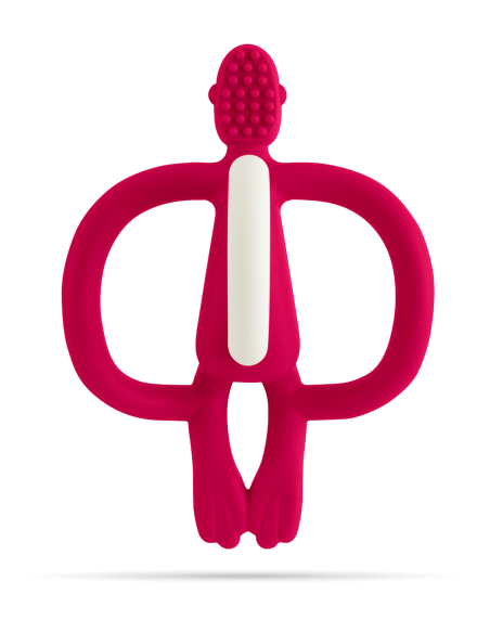 Cepillo silicona Matchstick Monkey RUBINE