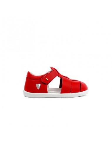 634411 Bobux IW Tidal Open Sandal Red