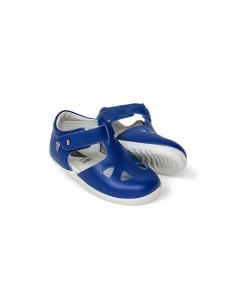 725824 SS20 Bobux SU Zap Closed Sandal Blueberry