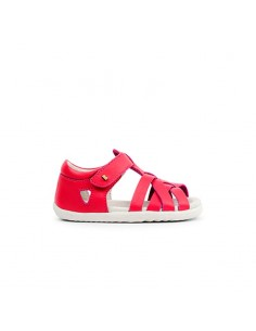 729809 Bobux SU Tropicana Closed Sandal Strawberry