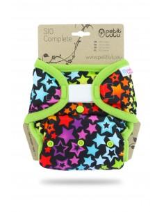Petit Lulu Pañal de tela SIO Complete Velcro Star