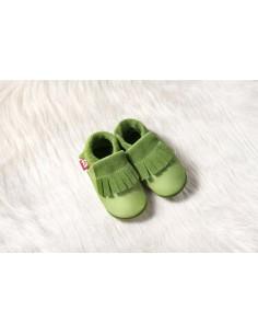 Zapato de gateo POLOLO Moccasin Verde
