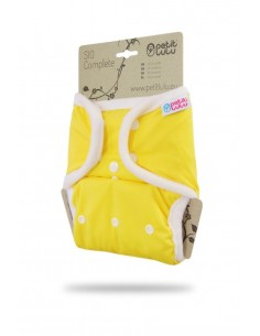 Petit Lulu  Pañal de tela SIO Complete Snaps Amarillo
