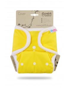 Petit Lulu  Cobertor SIO Complete Snaps Amarillo