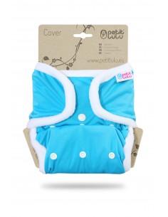 Petit Lulu  Cobertor SIO Complete Snaps Azul