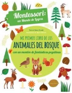PRIMER LIBRO ANIMALES BOSQUE