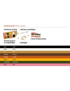 Kit maquillaje Vie Sauvage Namaki 8 colores