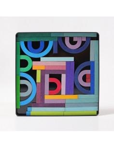 Puzzle Magnético Grimm's Letter Shapes