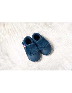 Zapato de gateo POLOLO Moccasin Azul