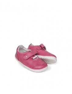 730204 Bobux OW20 SU Ryder Pink + Raspberry