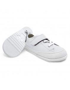 Zapato Feroz Turia Piel Blanco AW20