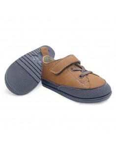 Zapato Feroz Turia Piel Nut...