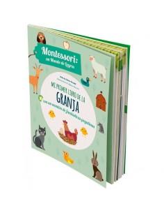Mi primer libro de la granja. Montessori: un mundo de logros.