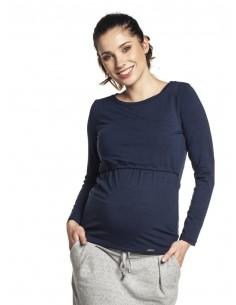 Camiseta Premamá y Lactancia TORELLE Marino