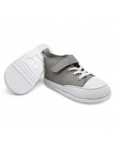 Zapato Feroz Júcar Piel Gris AW20