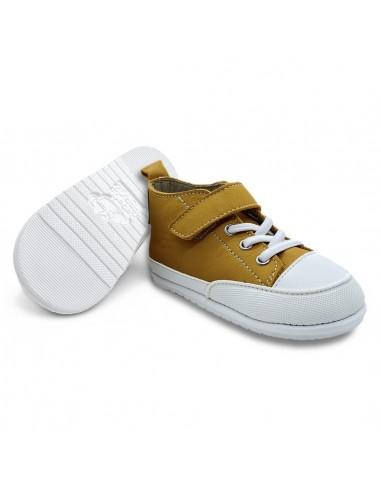 Zapato Feroz Júcar Piel Mostaza AW20