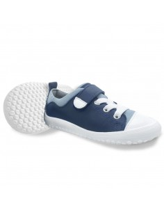 Zapato Feroz Paterna Piel Azul AW20