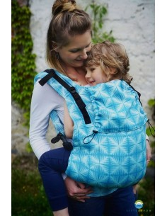 Mochila Toddler XL Little Frog Blue Glimmer