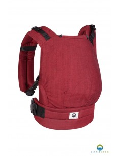 Mochila Evolutiva Standard Little Frog Ruby Herringbone