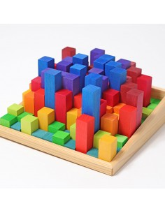 Bloques escalonados de madera para contar GRIMM'S