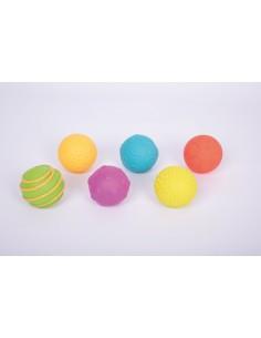 Bolas sensoriales con trama TICKIT